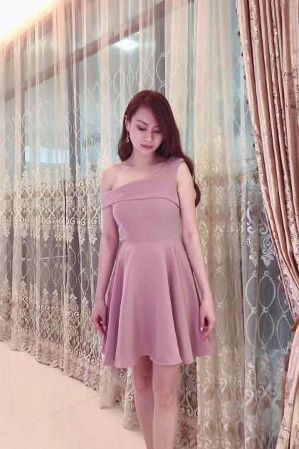 Chixxie Jenna Dress in Pink