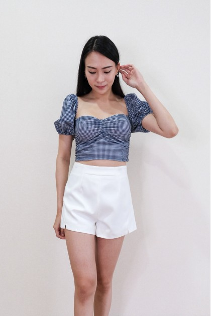 Chixxie Jolie Shorts in White
